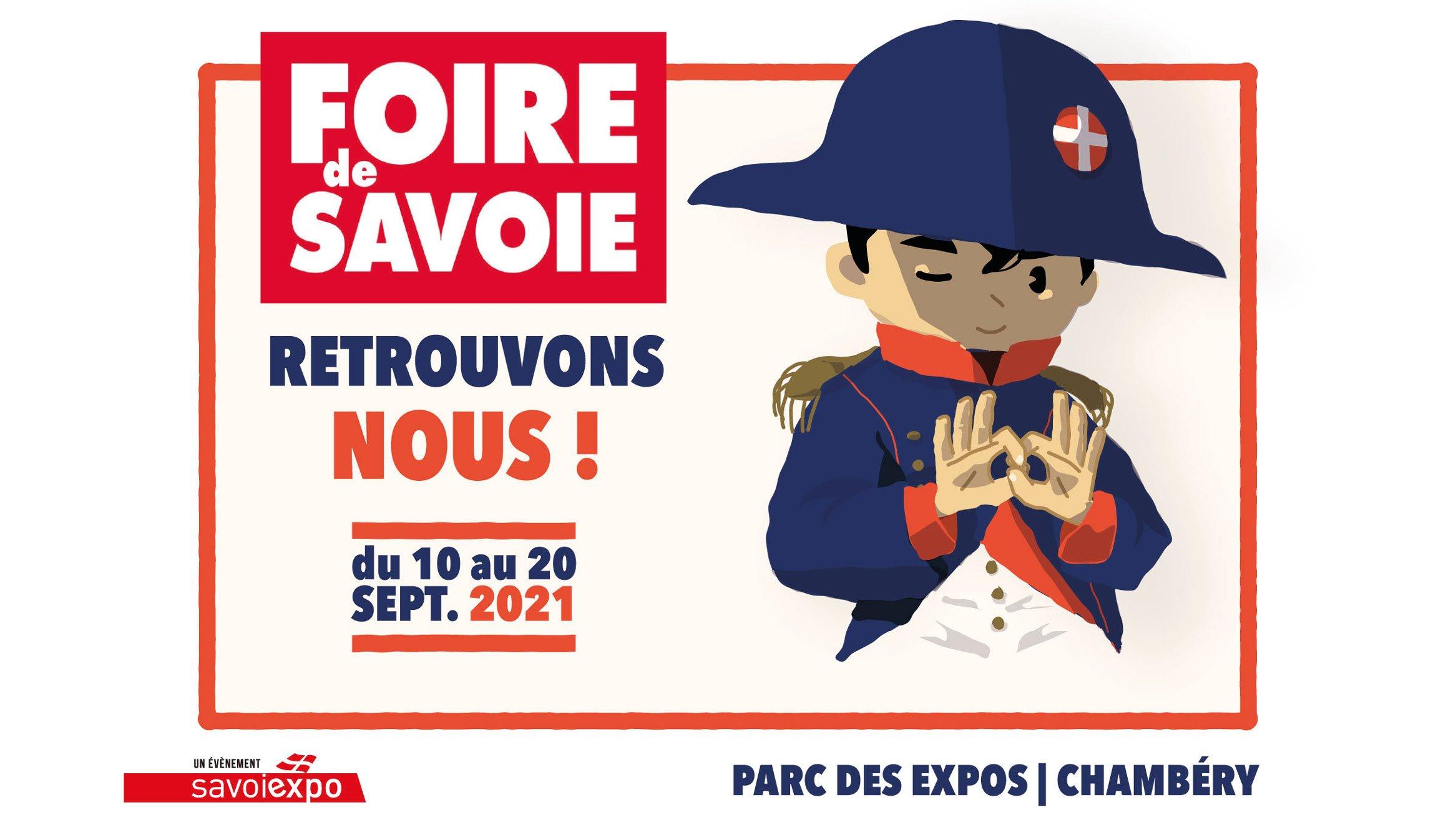 FOIRE DE SAVOIE DU 11 AU 21 SEPTEMBRE 2020